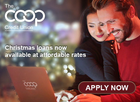 Christmas loans now available from The Co-op Credit Union